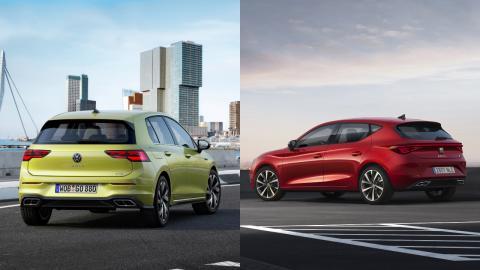 Volkswagen Golf 8 o Seat León 2020