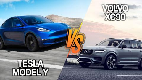 Volvo XC90 T8 vs Tesla Model Y