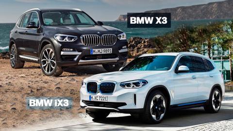 diferencias entre el BMW X3 y el BMW iX3