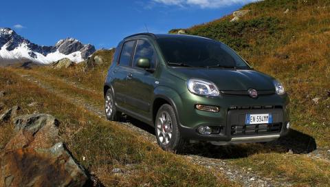 Fiat Panda 4x4 rivales