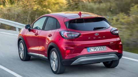 Ford Puma: ahora con cambio de doble embrague y un nuevo motor diésel EcoBlue