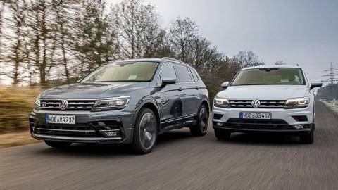 Guía de compra VW Tiguan vs VW Tiguan Allspace