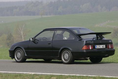 La increíble historia del Ford Sierra RS Cosworth