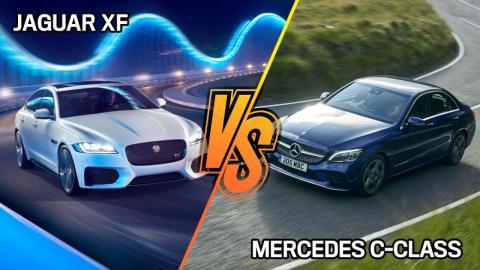 mercedes-clase-c-vs-jaguar-xf