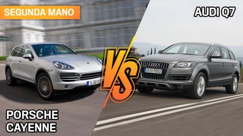 Porsche Cayenne o Audi Q7 de segunda mano, ¿cuál interesa más?