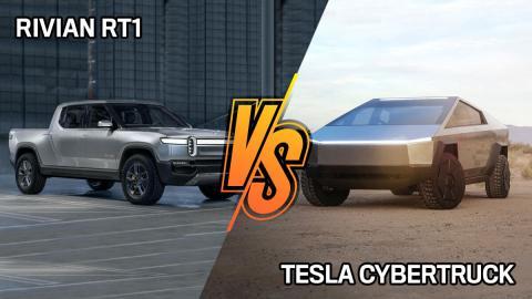 Rivian R1T o Tesla Cybertruck