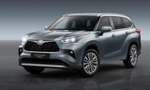 Toyota Highlander 2021: