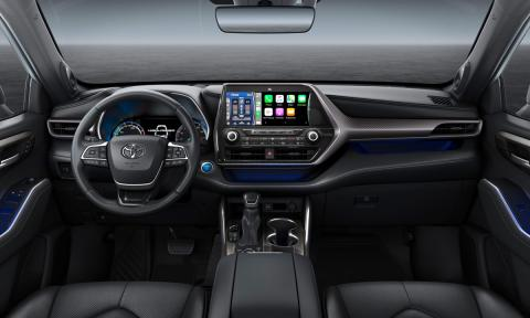 Toyota Highlander 2021 interior