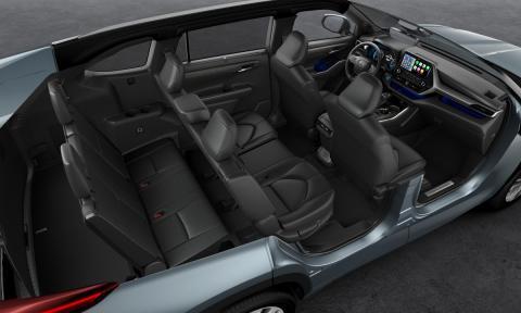 Toyota Highlander 2021 maletero