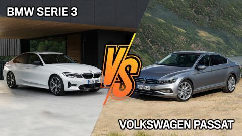 VW Passat o BMW Serie 3 2020