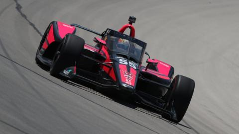 Alex Palou en la Indycar