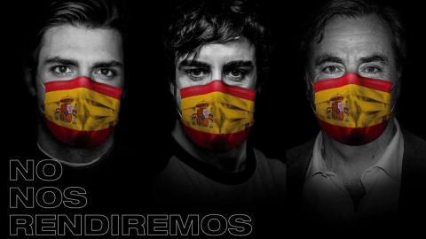 Alonso y los Sainz contra el hambre