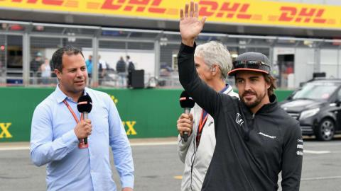 Alonso y Ted Kravitz