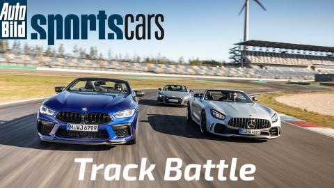 BMW M8 Competition vs Mercedes-AMG GT R vs Audi R8 Performance