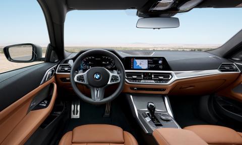 BMW Serie 4 Coupé 2020 interior