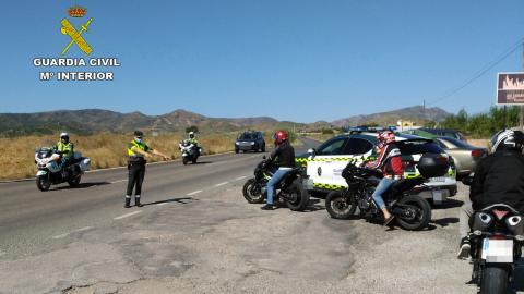 Cazados motoristas 191 km/h