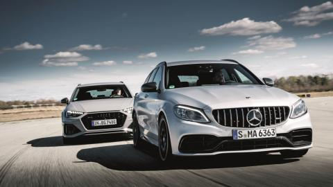 comparativa-audi-rs-4-avant-vs-mercedes-amg-c-63-estate