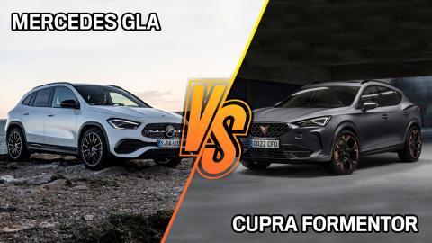 Cupra Formentor vs Mercedes GLA