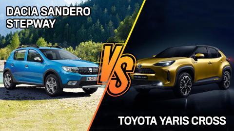 Dacia Sandero Stepway o Toyota Yaris Cross, ¿cuál es mejor?