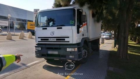 Camión DGT