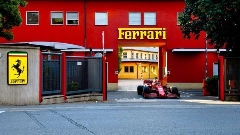 Ferrari F1 en Maranello