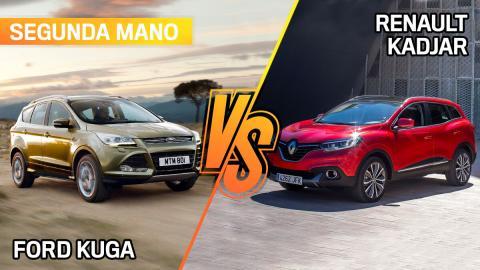 Forg Kuga o Renault Kadjar de segunda mano, ¿cuál es más interesante?
