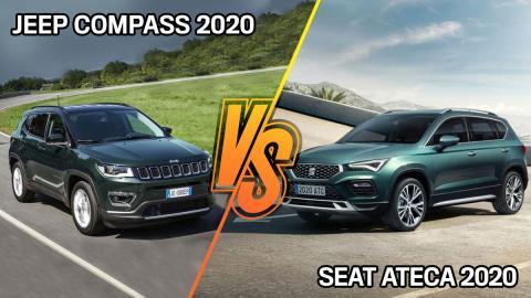 Jeep Compass 2020 o Seat Ateca 2020, ¿cuál es mejor?