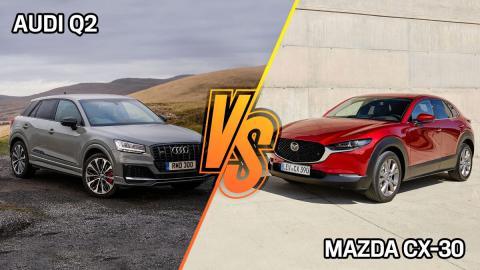 Mazda CX-30 o Audi Q2, ¿cuál es mejor?