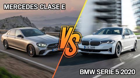 Mercedes Clase E o BMW Serie 5 2020, ¿cuál tiene mejores versiones híbridas?