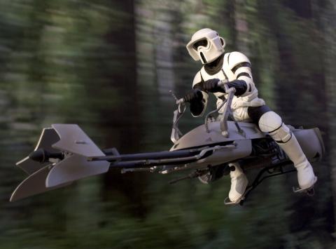 Moto Star Wars