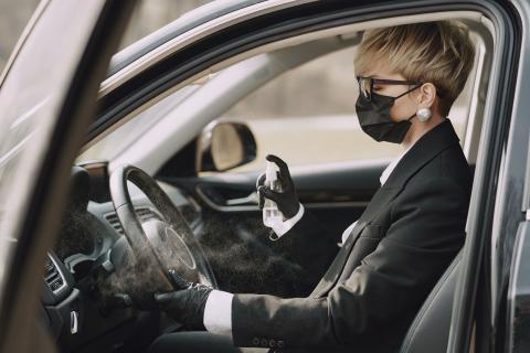 Nueva normalidad, ¿cuándo hay que conducir con mascarilla?