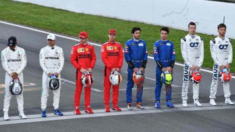 Pilotos F1 2020