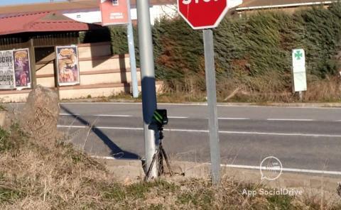 Radar Veloláser en Segovia