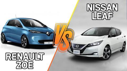Renault Zoe, ¿dónde es mejor y peor que el Nissan Leaf?