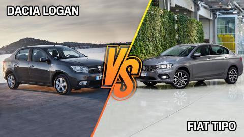 Fiat Tipo o Dacia Logan comprar