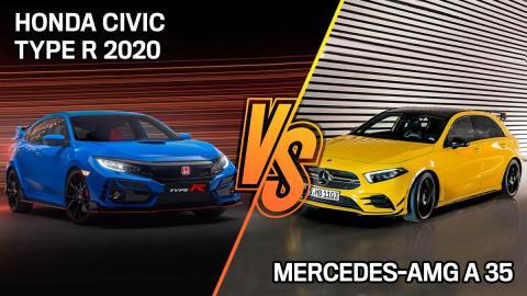 Honda Civic Type R 2020 o Mercedes-AMG A 35 ¿cuál es mejor?