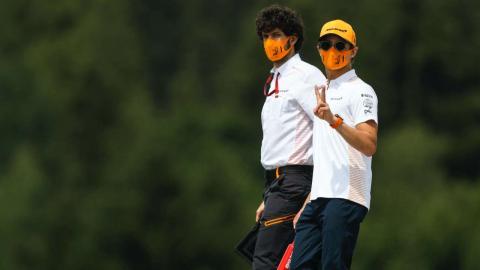 Lano Norris F1 Austria