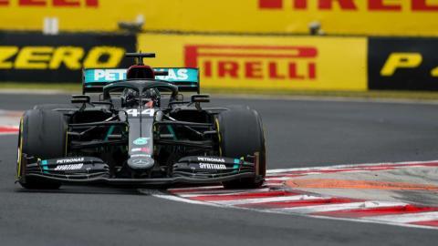 Lewis Hamilton GP Hungria 2020