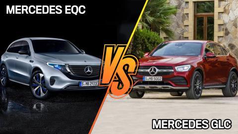 Mercedes EQC o Mercedes GLC, ¿dónde es mejor y peor cada uno?