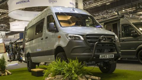 Mercedes Sprinter 4x4: una vivienda todoterreno