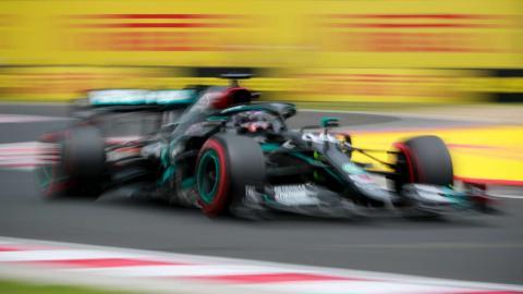 Pole de Hamilton en el GP de Hungria