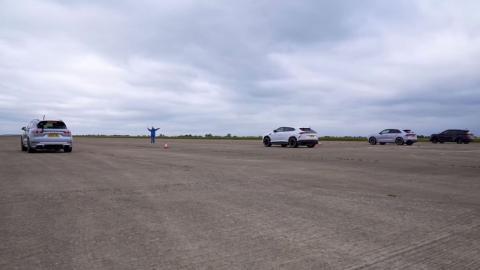 Porsche Cayenne Turbo S vs Audi RS Q8 vs Lamborghini Urus vs Bentley Bentayga