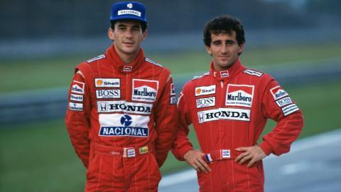 Prost y Senna
