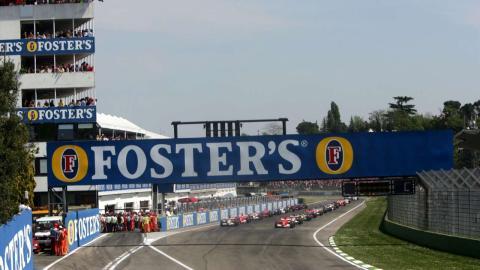 Salida GP Imola F1 2006