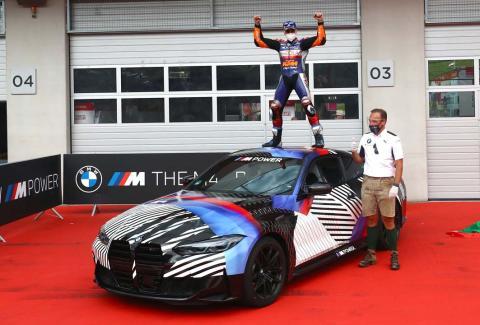 El BMW M4 de Oliveira por ganar el GP de Estiria de MotoGP 2020