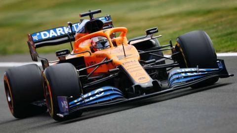 Carlos Sainz F1 Silverstone