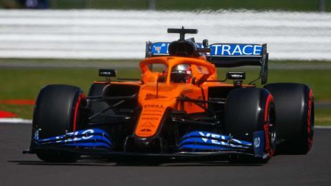 Carlos Sainz en el GP Gran Bretaña