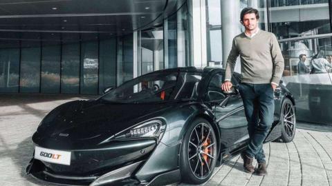 Carlos Sainz McLaren 600 LT