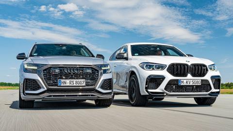 Comparativa: Audi RS Q8 vs BMW X6 M