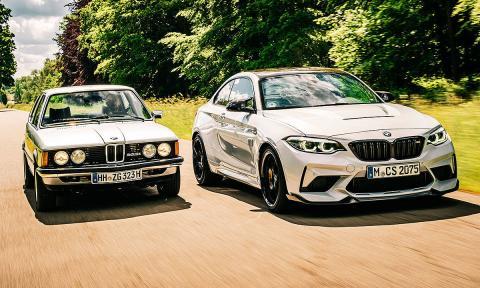 comparativa BMW M2 CS contra 323i E21